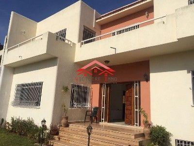 For rent rabat house hay ryad rabat morocco 405 m2 15000 dhs for 9hab sala sidi moussa