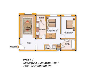 Immobilier skhirat les programmes immobiliers neufs sur for 9hab sala sidi moussa